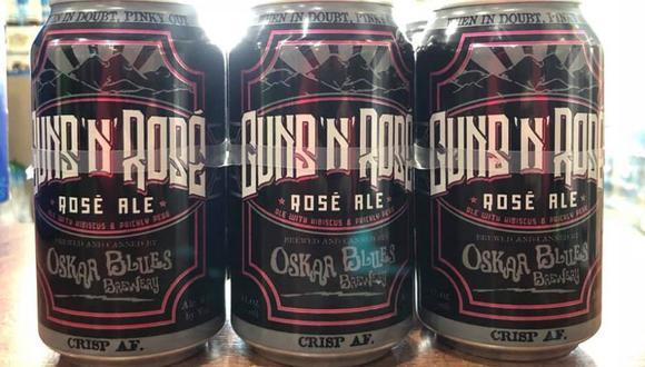 Guns N' Roses demanda a cervecería por llamar a una variedad 'Guns 'N' Rose'. (Facebook)