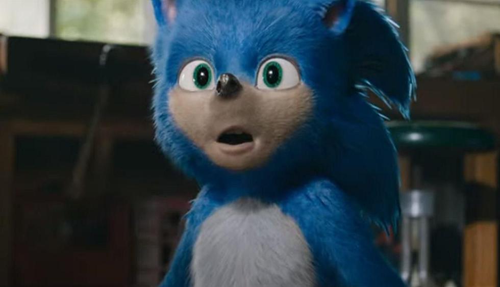 """Se retrasa la fecha de estreno de """"Sonic The Hedgehog"""" por rediseño del personaje. (Foto: Captura de video)"""