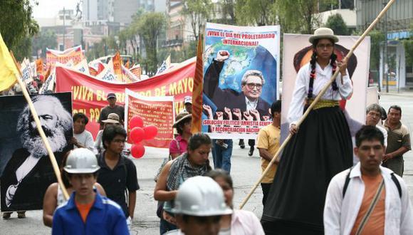 Tras la reunión de fines del año 2000, los seguidores reclamaron amnistía y, años después, se creó Movadef. (D. Vexelman)
