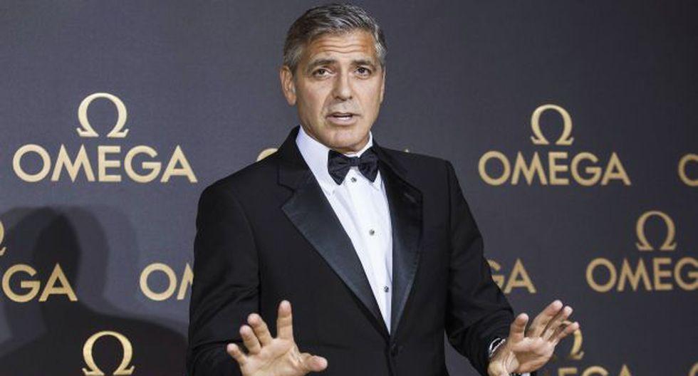 George Clooney sería multado por anillo de compromiso. (Reuters)