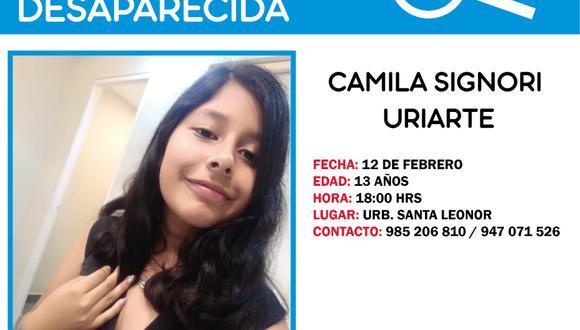 Familiares piden ayuda para dar con el paradero de adolescente. (Facebook)