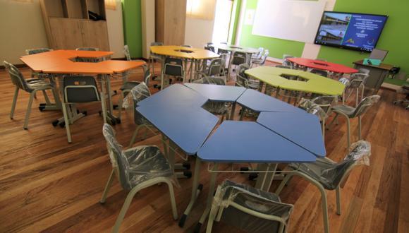 Cusco: construyen aulas interactivas que beneficiará a más de 500 estudiantes de Espinar (Foto difusión)