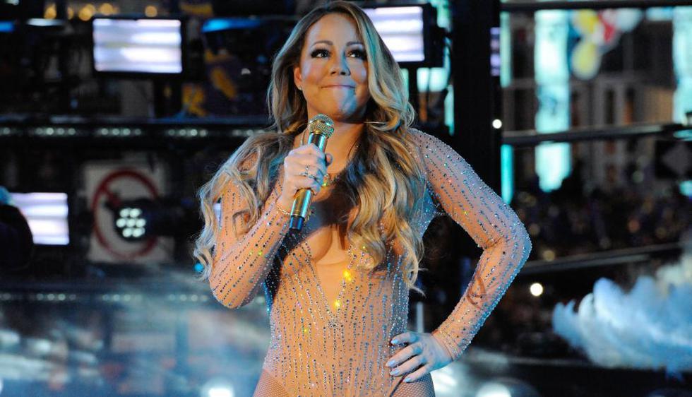Mariah Carey tuvo una desastrosa presentación en Times Square. (Reuters)