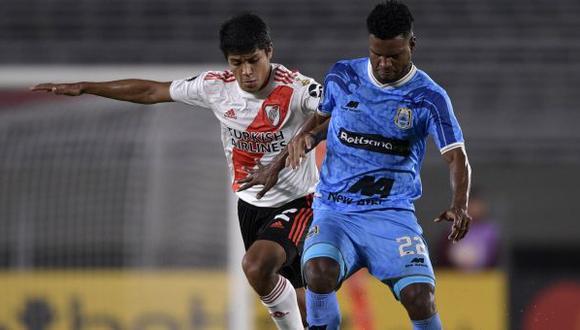 Aldair Rodríguez tiene 6 goles (5 en Liga 1 y 1 en Copa Libertadores) en lo que va del año con camiseta de Binacional. (Foto: AFP)