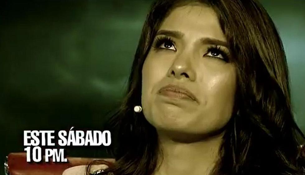 Anyella Grados, ex Miss Perú, será la nueva invitada de 'El valor de la verdad'. (Foto: Captura)