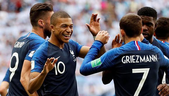 Francia recibe este lunes a una complicada Islandia por el grupo H de las Eliminatorias Eurocopa 2020. (Foto: Reuters)