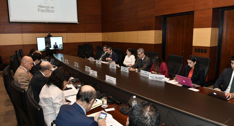 Lima acogió a la 48ª reunión del Grupo de Alto Nivel de la Alianza del Pacífico.