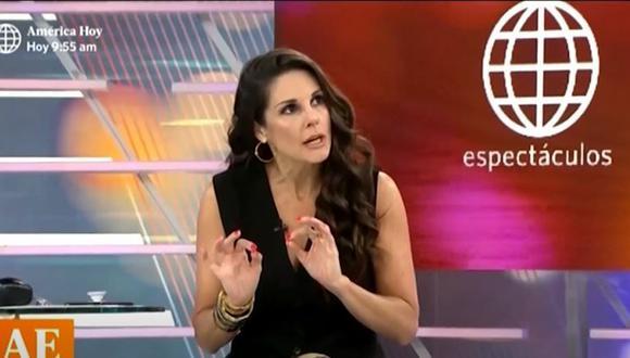 """Rebeca Escribens se solidarizó con familiares de Bryan Pintado y Inti Sotelo: """"Que se haga justicia"""". (Foto: captura de video)."""
