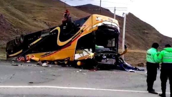 Al menos tres personas fallecieron esta madrugada en La Oroya (Junín) (Foto: Facebook/Radio Sol Sayán)