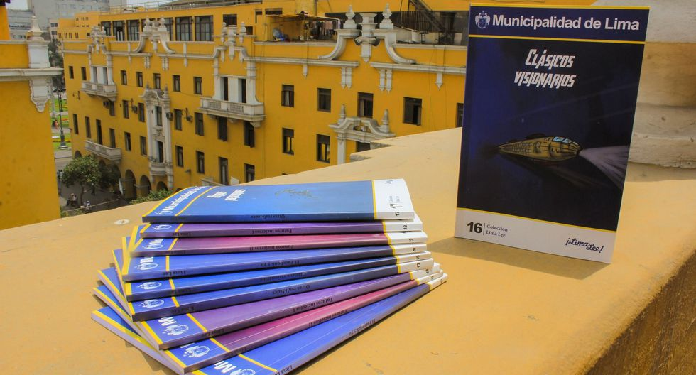 'Colección futurista': Nueva edición de libros a disposición de usuarios del Metropolitano. (Difusión)