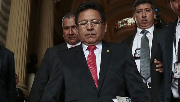 CNM ratificó sanción contra Carlos Ramos Heredia y seguirá fuera del Ministerio Público. (Nancy Dueñas)