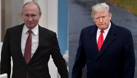 Trump y Putin tienen prevista una reunión bilateral en Buenos Aires, donde ambos asistirán este viernes y sábado a la cumbre de líderes del G20. (Foto: EFE)
