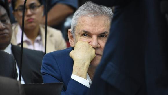 Fiscalía estima que Luis Castañeda debería recibir condena de 35 años. (Poder Judicial)