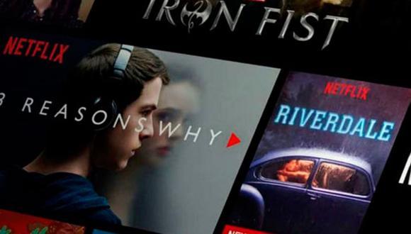 Netflix también pueden verse en algunos canales de cable, aunque mucho tiempo después de su lanzamiento en la plataforma. (Foto: Captura)