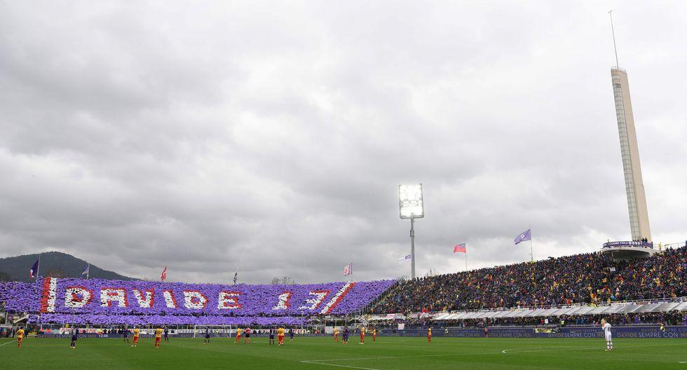 En memoria de Davide Astori se respetará un minuto de silencio en todos los duelos de la Serie A, Serie B (Segunda División) y Serie C (Tercera División) de Italia. (AFP)