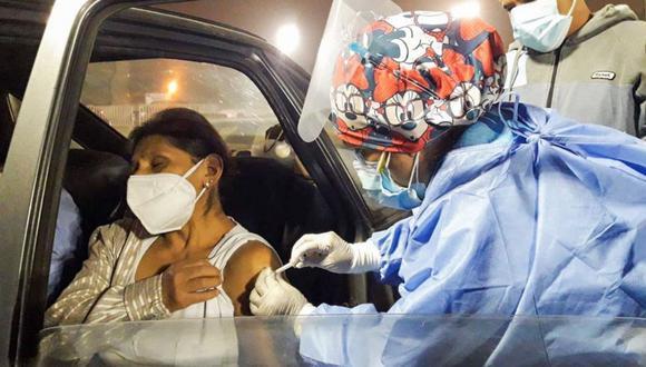 Se han dispuesto 22 centros de vacunación en Lima y Callao para la Vacunatón (Foto: Ministerio de Salud / Twitter)