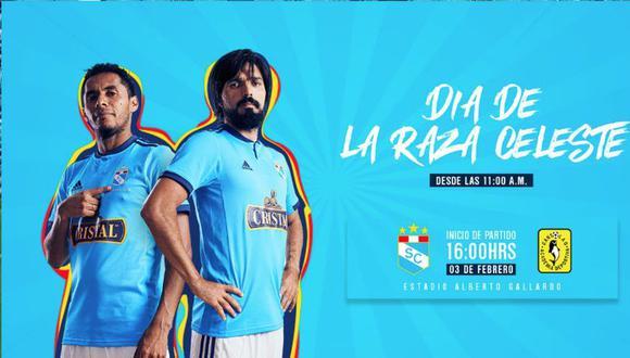 Día de la Raza Celeste: Sporting Cristal se enfrentará a la Academia Cantolao (SportingCristal/Twitter)