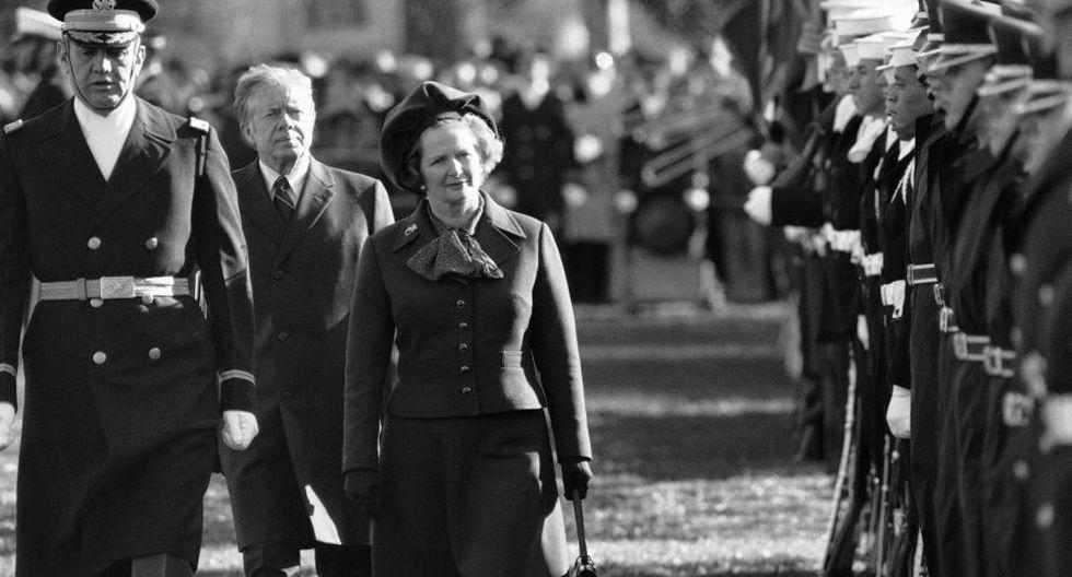 En 1954 se convierte en abogada tras estudiar Derecho y en 1975 se vuelve la líder de la oposición en la Cámara Baja y del Partido Conservador. (AP)