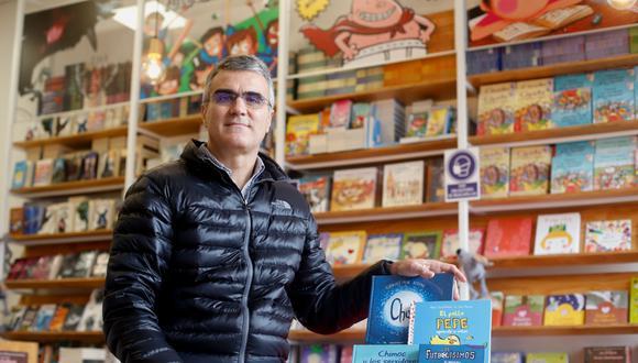Alberto Almendres, economista español, director del grupo editorial SM Perú. (Foto: VIOLETA AYASTA)