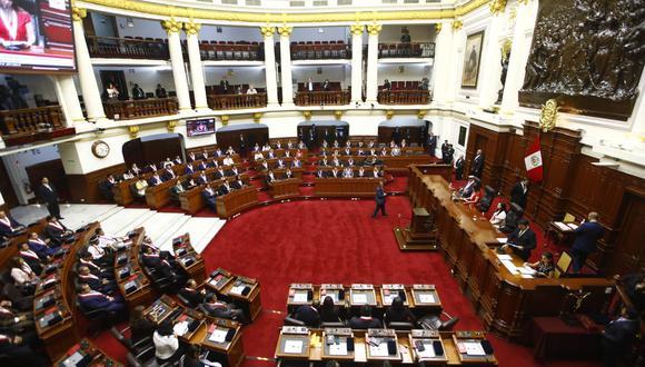 Los 130 legisladores electos juramentaron en tres bloques para el periodo 2020-2021 en estricto privado. (Foto: Congreso)
