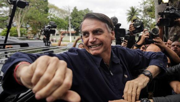 La trayectoria de Bolsonaro en el Congreso ganó notoriedad por sus polémicas posiciones. (Foto: EFE)