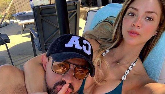 Sheyla Rojas y Fidelio Cavalli. Modelo y empresario borraron las fotos en redes sociales. | Instagram