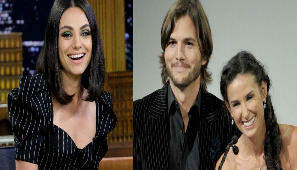 """La actriz de origen ucraniano se casó con Ashton Kutcher en el 2015. Mila Kunis indica que su actual esposo tuvo una """"relación real"""" con Demi Moore. (Fotos: AFP)"""