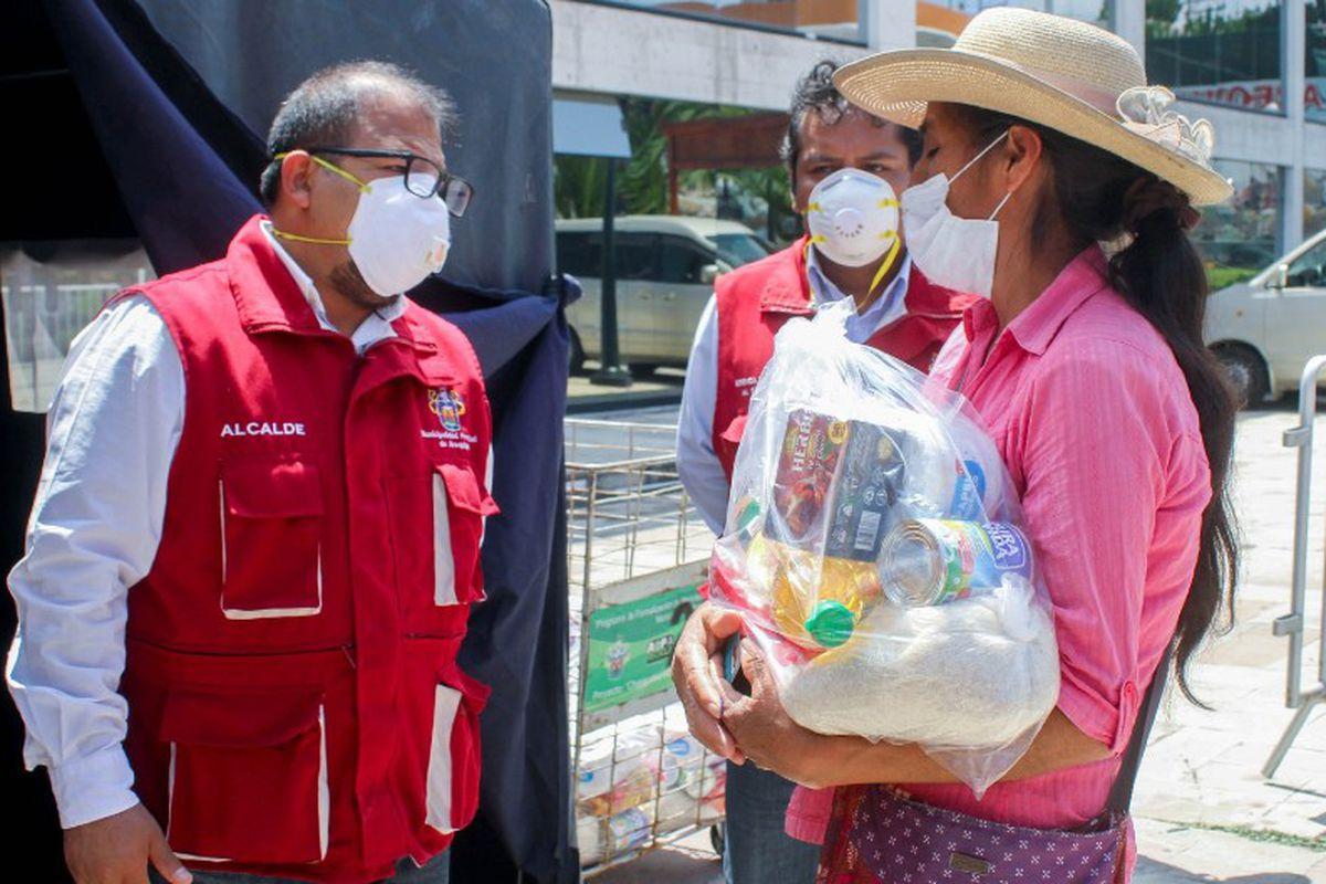 Arequipa: Repartirán canastas de víveres a 20 mil familias ...