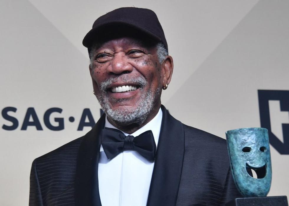 Morgan Freeman homenajeado en festival de Francia pese a denuncias por acoso sexual | Foto: AFP