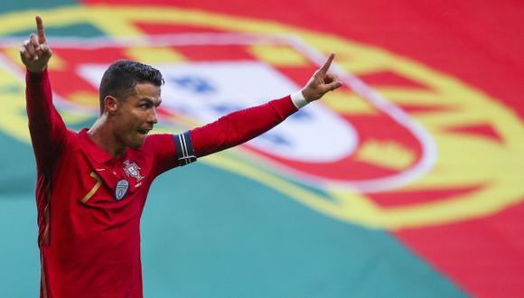 Cristiano Ronaldo habló de las expectativas con Portugal en la Eurocopa. (Foto: EFE)