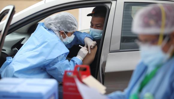 El titular de Salud sostuvo que la Vacunatón continuará porque se ha demostrado que dan resultado, pues elevan significativamente las cifras de vacunados (Foto: GEC)