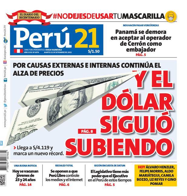 Y el dólar siguió subiendo