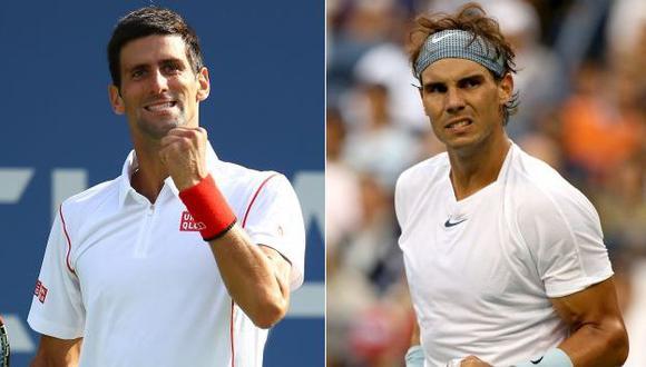 Este será el partido 37 en el que se enfrentarán Djokovic y Nadal. (AFP)