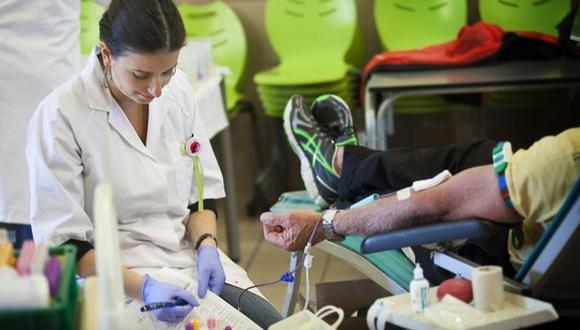 Ministerio de Sanidad ya no tendrá mayores impedimentos para los donantes de sangre homosexuales. (Getty Images)