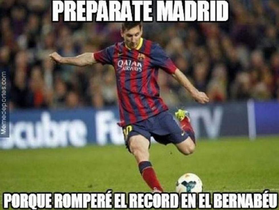 Barcelona vs Real Madrid: Los memes que calientan la previa del derbi. (Memedeportes.com)