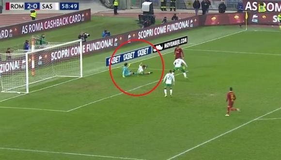 La genial jugada de Zaniolo que terminó en golazo a Sassuolo. (Captura: YouTube)