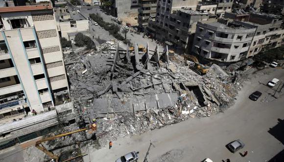 Conflicto en la Franja de Gaza cumple 50 días. (EFE)