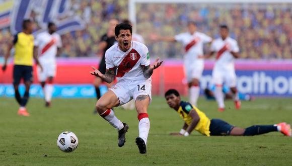 El mensaje de Gianluca Lapadula después de la victoria de la selección peruana. (Foto: AFP)