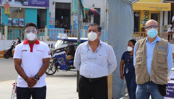 Piura: alcalde de Sechura dio positivo al COVID-19 y permanece en cuarentena (Foto: Municipalidad Provincial de Sechura)