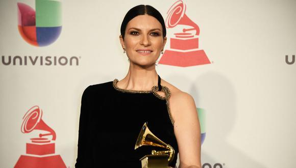 Laura Pausini y su mensaje tras ser nominada al Oscar a mejor canción original. (Foto: AFP).