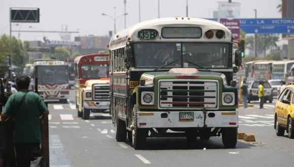Para fiscalizar el transporte. (Rafael Cornejo)