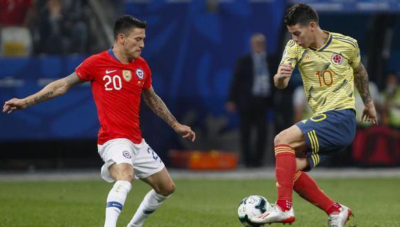 Chile vs. Colombia: se miden en Santiago por las Eliminatorias Qatar 2022. (Foto: AFP)