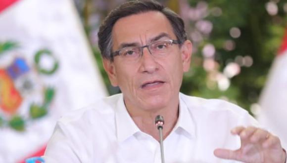 El presidente Martín Vizcarra dijo que varias medidas seguirán incluso luego de la cuarentena contra el coronavirus. (Foto: Presidencia)