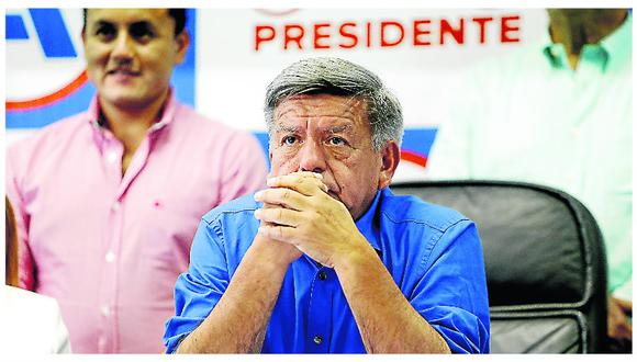 César Acuña confía en ser la segunda bancada con más congresistas tras elecciones. (GEC)