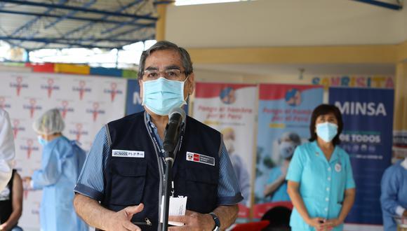 Óscar Ugarte recordó que no es una condición para que haya elecciones que los miembros de mesa sean vacunados contra el coronavirus. (Foto: Archivo GEC)