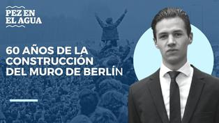 60 años de la construcción del muro de Berlín