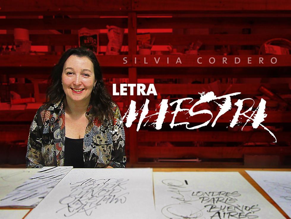 La gestualidad natural del ser humano se convierte en un estilo caligráfico en las manos de Silvia Cordero.