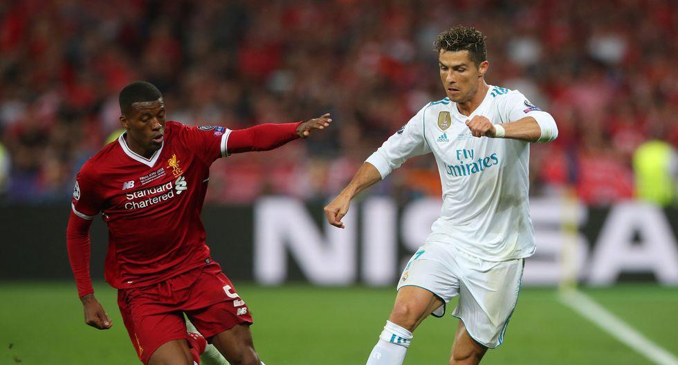 Con Ronaldo en Kiev, Real Madrid venció 3-1 a Liverpool y se consagró tricampeón de la Champions League. (REUTERS)