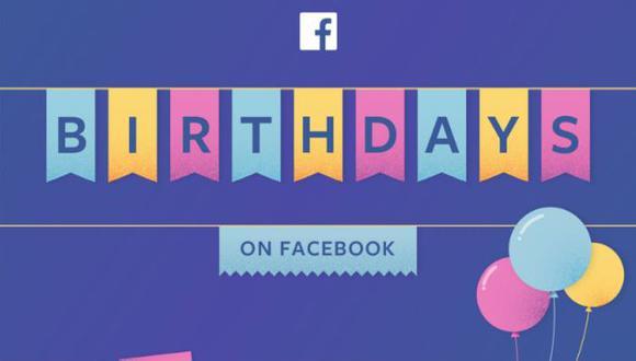 Facebook te deja recolectar dinero en tu cumpleaños y te contamos cómo hacerlo (Facebook)