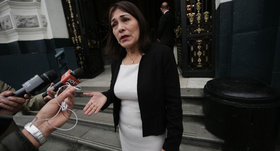Salazar sale en defensa de su lideresa. (Foto: GEC)
